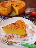 チーズ不要‼かぼちゃチーズケーキ☆