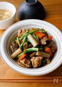 『『ご飯に合う♫甘辛鶏ごぼう煮』#簡単和食#味しみ』
