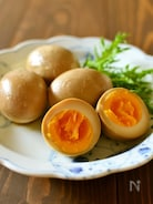 まろやかな酢醤油味玉【作りおき】