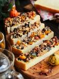 ハロウィンの簡単おやつに!かぼちゃとナッツのチョコスティック