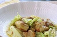鶏モモ肉とキャベツのチーズカレークリーム煮