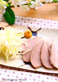 『加熱3分 * しっとり茹で豚』