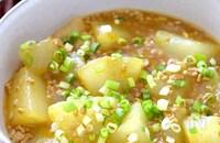 食べなきゃ損!トロッと♡冬瓜とひき肉の和風カレーとろみ煮