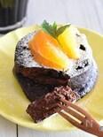 オーブン不要!レンジで簡単!濃厚チョコレートケーキ