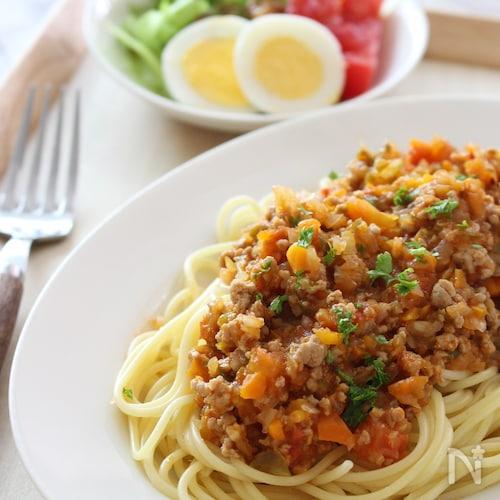 野菜嫌いでもおかわり続出♡愛情たっぷりの手作りミートソース