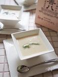 グルテンフリー☆味わいウドの豆乳クリームポタージュスープ