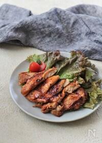 『ご飯がすすむ!鶏の甘みそ漬け焼き【下味冷凍レシピ】』