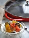 チキンと夏野菜のグリル アンチョビマリネ