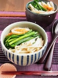 ニラとえのきのアジアン煮麺(にゅうめん)