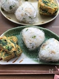【リメイク】朝ご飯にも簡単♡鯖の切り身deおにぎりプレート♡