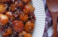 お惣菜屋さん風『新じゃがと豚バラ肉の甘辛生姜炒め』