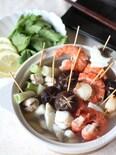 海鮮串なべ