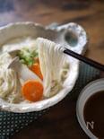 とろとろクリーミィ温泉湯豆腐仕立てのひきあげ素麺