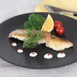 真鯛のポワレ レモンクリームソース添え