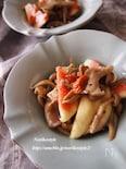 きのことイチジクの秋マリネサラダ