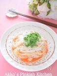 パクチー素麺 真夏のアジアン素麺♡