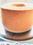 ジンジャーチャイ風味のシフォンケーキ