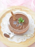 カルダモンチョコレートコーヒータピオカプディング