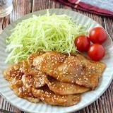 【下味冷凍にも】豚肉の胡麻味噌生姜焼き