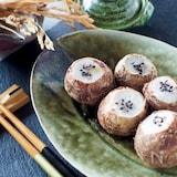 【秋の味覚】まん丸がかわいい*里芋のきぬかつぎ#簡単おつまみ