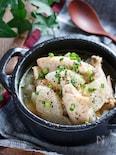 鶏大根のうま塩にんにくスープ煮【#作り置き #煮るだけ】