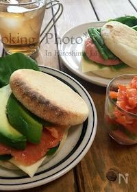 『イングリッシュマフィンの☆海鮮サンドイッチ☆』