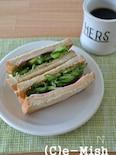 【沼サン?】たっぷりきゅうりの大人サンドイッチ