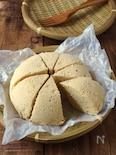 レンジで簡単‼︎低糖質おから蒸しパン【ワンボウル・混ぜるだけ】