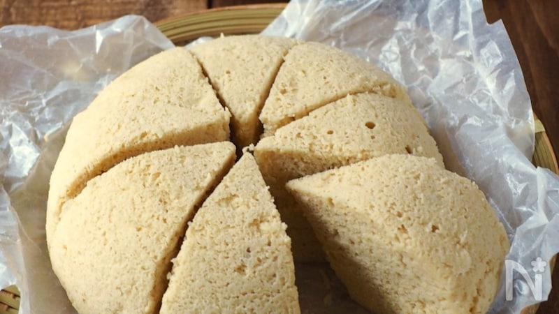 パウダー お ベーキング から なし 蒸し パン