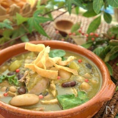 ソパ・ビルデ☆メキシコの緑のスープ