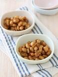 大豆とごぼうの甘辛炒め