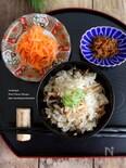 さきいかと生姜の炊き込みご飯