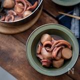 イカと里芋の煮物。