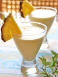 パイナップル&ココナッツ豆乳スムージー
