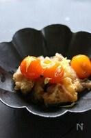 鶏天ぷらの金柑ソース