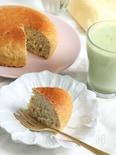 炊飯器で簡単!グルテンフリーの米粉バナナケーキ