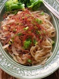 お酢が決め手の韓国春雨の塩昆布チャプチェ