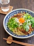 たっぷり香味野菜の麻辣和え麺