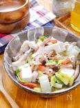 切ってチンで完成♡『白菜と豆腐のレンチンうま煮』