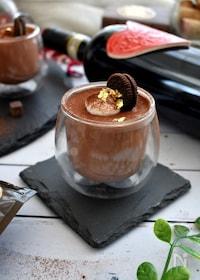 『ラム酒香る大人のチョコレートムース』