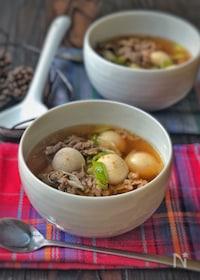 『韓国の秋の定番スープ*トランタン(里芋スープ)*』