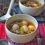 韓国の秋の定番スープ*トランタン(里芋スープ)*
