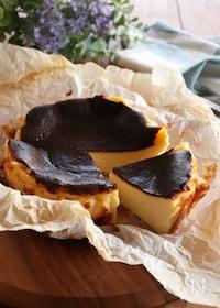 『バスク風チーズケーキ』