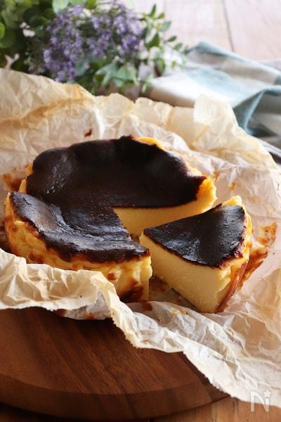 チーズ ケーキ 作り方 バスク