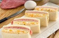 【我が家の濃厚なたまごサンドイッチ】
