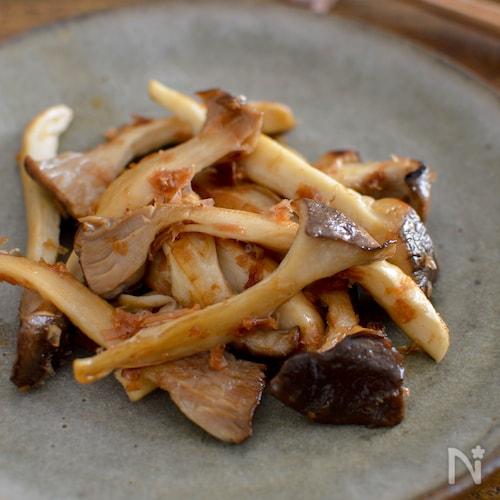 簡単!エリンギのしょうゆ焼き。包丁不要♪おつまみ、副菜に。