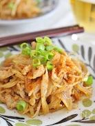 春雨と豚肉の甜麺醤炒め