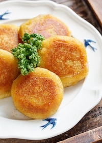 『さつまいもの塩バター黄金焼き【#冷凍保存 #スイーツ】』