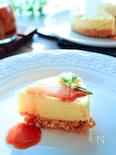 キャラメルソースとの相性抜群♪キャラメルチーズケーキ
