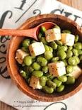 混ぜるだけで絶品おつまみ!枝豆とチーズのオリーブオイル和え